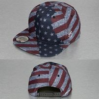 Just Rhyse America Snapback Cap Colored