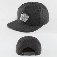 Šiltovka Just Rhyse Hawaiian Snapback Cap Anthracite