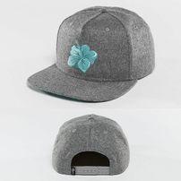 Šiltovka Just Rhyse Hawaiian Snapback Cap Grey