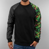 Just Rhyse Jungle Sweatshirt Black