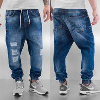Just Rhyse Luke Antifit Jeans Dark Blue