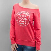 Just Rhyse Our Time Sweatshirt Red