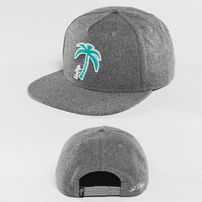 Šiltovka Just Rhyse Palm Desert Snapback Cap Grey