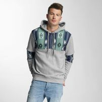 Just Rhyse Pina Valley Hoody Grey/Blue