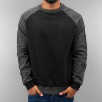 Just Rhyse Raglan Sweatshirt Black/Grey