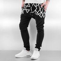 Just Rhyse Stripes Sweat Pants Black