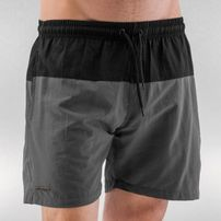Just Rhyse Swim Shorts Black/Grey