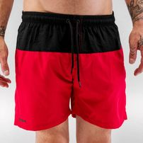 Just Rhyse Swim Shorts Black/Red
