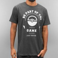 Just Rhyse Trainer T-Shirt Anthracite