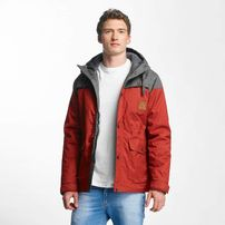 Just Rhyse Warin Jacket Red/Grey