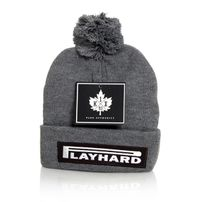 K1x Play Hard Bommel Beanie Grey Grey 1153-5241-8801