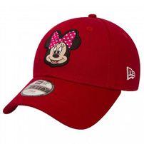 Detská šiltovka New Era 9Forty Youth Disney Patch Minnie Mouse Red