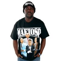Mafioso Clothing Dead Presidents Tee Black