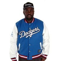 Majestic Athletics Beecroft Letterman Jacket LA Dodgers Blue