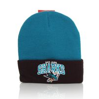 Mitchell & Ness NHL Arched San Jose Sharks Beanie