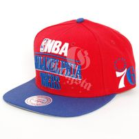 Mitchell & Ness Philadelphia 76`ers Media 2T Snapback Cap