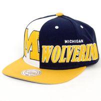 Mitchell & Ness Quartel Panel Michigan Wolverines Snapback