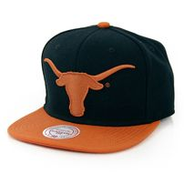 Mitchell & Ness XL Logo Texas 2 Tone Snapback