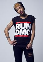 Mr. Tee Ladies Run DMC Logo Tee black