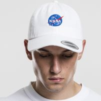 Mr. Tee NASA Dad Cap white