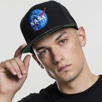 Mr. Tee NASA Snapback black
