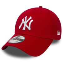 New Era 9Forty MLB League Basic NY Yankees Scarlet White