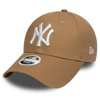 Dámska Šiltovka New Era 9Forty Womens Essential NY Yankees Khaki White