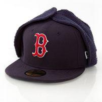 New Era League Basic Boston Red Sox Dog Ear Cap
