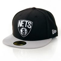 New Era NBA Basic Brooklyn Nets Game Cap Black Grey