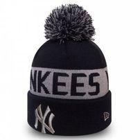 Zimná čapica New Era Team Tonal Knit NY Yankees Navy Silver