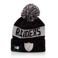 Zimná čapica New Era Team Tonal Knit OAK Raiders Navy Silver