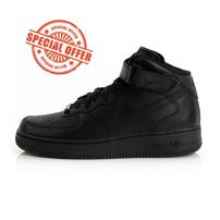 Nike WMNS Air Force 1 Mid `07 LE Black Black 366731-001