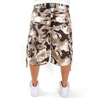 Pelle Pelle Cargo Shorts Desert Camo