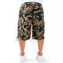 Pelle Pelle Cargo Shorts Wood Camo