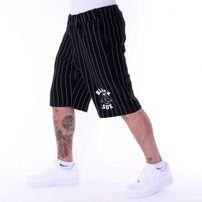 Pelle Pelle Pinstripe Sweatshort Black White PM6511601-005