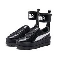 Puma X Fenty by Rihanna Ankle Strap Women`s Sneaker Black White 36626403