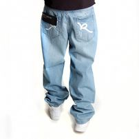 Rocawear Double R Baggy Fit Light Wash Destroyed R00J9911E-828