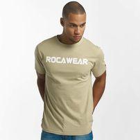 Rocawear / T-Shirt Color Block in khaki