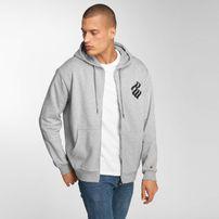 Rocawear / Zip Hoodie Brand in grey