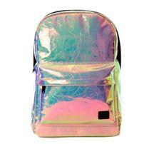Spiral Holographic Backpack Bag