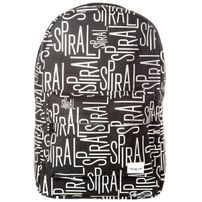 Spiral Linear Spiral Backpack Bag