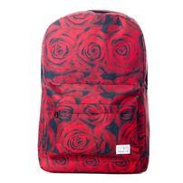 Spiral Red Roses Backpack Bag Red