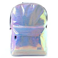 Ruksak Spiral Textured Blush Holographic Backpack Bag