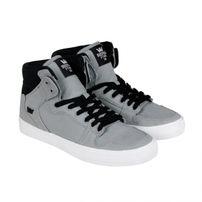 Supra Vaider Grey Black White