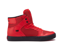 Supra Vaider Red Black