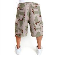 Surplus Vintage Shorts Wash 3 Colour Camo