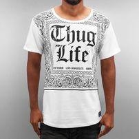 Thug Life Bandana T-Shirt White