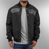 Thug Life Basic College Jacket Black/Black/Grey