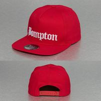 Thug Life Bompton Snapback Cap Red