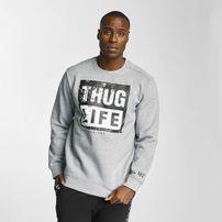 Thug Life Boxlife Sweatshirt Grey